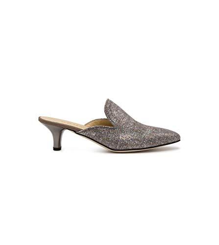 Brunate Luxury Fashion Damen 50979SILVER Silber Sandalen | Jahreszeit Outlet