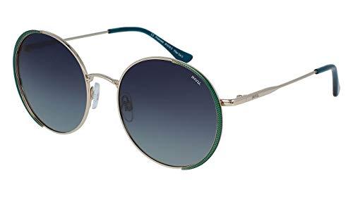 INVU Sonnenbrille B 1019 C Gold Grün polarisierte Gläser