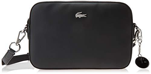 Lacoste Women's Classic Crossbody Bag, Black