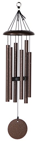 Corinthian Bells 27-inch Windchime, Copper Vein