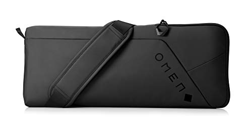 HP - Gaming OMEN Transceptor Custodia per tastiera, Vano morbido e foderato, Tasca Organizer, Tessuto Impermeabile e Robusto, tracolla removibile, Nero