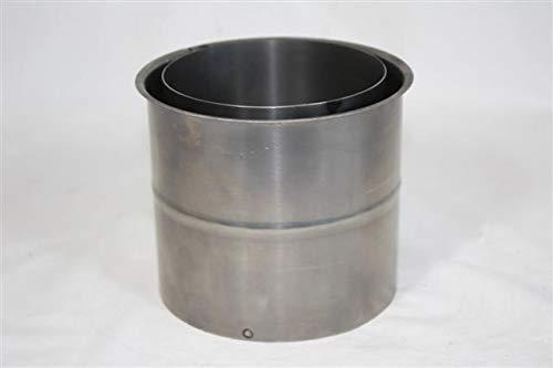 Ofenrohr Wandfutter 200 mm Doppelwandfutter Rohr Kaminrohr Schornstein