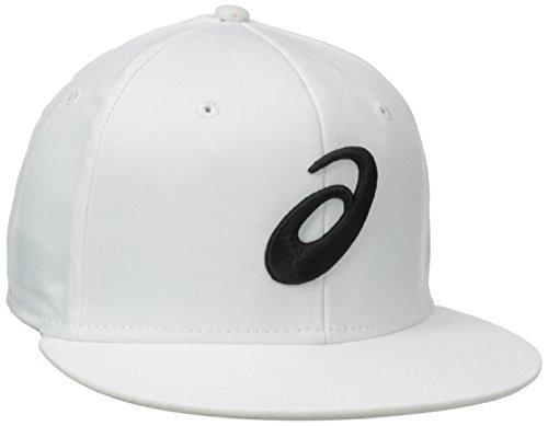 ASICS Golf Sideline Hat, White, Medium/Large