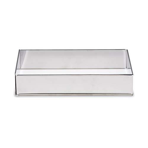 Patisse 2048107 - Molde rectangular ajustable para pan, brioche 25-46 y 17-32 cm