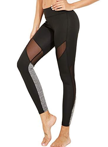 FITTOO Mallas Leggings Mujer Yoga de Alta Cintura Elásticos y Transpirables para Yoga Running FitnessG38