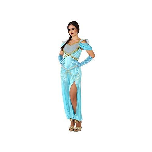 Atosa-61433 Atosa-61433-Disfraz Princesa Arabe-Adulto Mujer, Color celeste, XL (61433 , color/modelo surtido