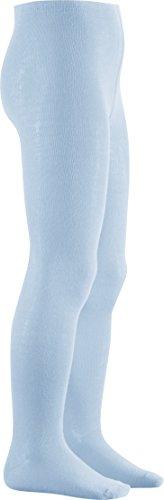 Playshoes Unisex Kinder Thermo-Strumpfhosen, warme Baumwoll-Strumpfhosen mit Komfortbund, blau (bleu 17), 86/92