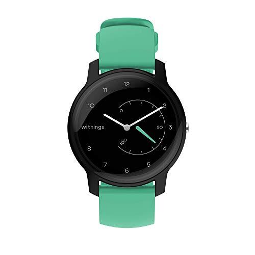 Withings Move – Fitnessuhr – Trackt Schritte, verbrannte Kalorien und Schlaf – Wasserdicht mit Connected GPS und Chronographen – Bluetooth Synchronisierung für iPhone und Android