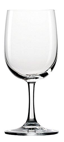 Stölzle Lausitz Wassergläser Classic 320ml, 6er Set Wasserglas, spülmaschinenfest, hochwertige Qualität aus Kristallglas