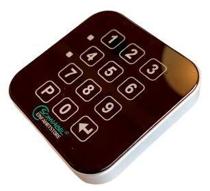 Codetastatur, Codeschloss, Codetaster, Zutrittskontrolle - Glasfront mit Touchfunktion