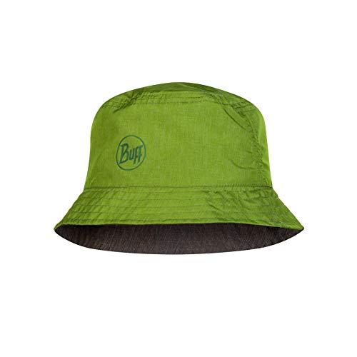 Buff Erwachsene Travel Bucket Hat, Shady Khaki, One Size
