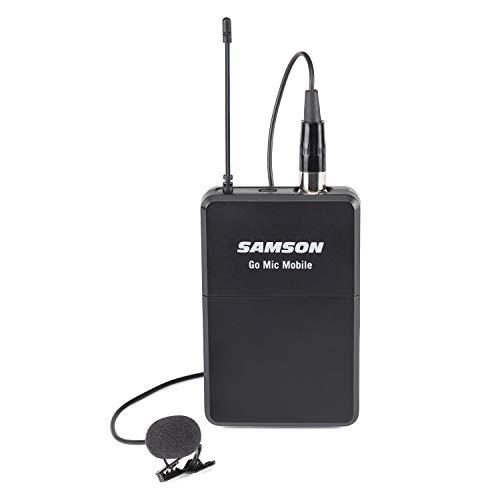 Microfone sem Fio com Body Pack (PXD2) Lapela (LM8) Samson Go Mic Mobile Beltpack