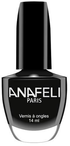 Ana Paris – Esmalte de uñas, colección lacada para manicura francesa clásica, 14 ml, (No. 51 negro)