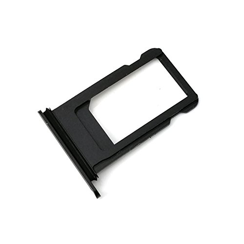E-repair SIM Card Tray Holder Replacement for iPhone 7 Plus (5.5'') Black
