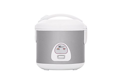 Narita 6 Cup Rice Cooker With Stainless Steel Inner Pan, Inner Pot 3D Warmer By HND
