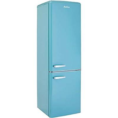 Amica FKR29653 Freestanding Retro Fridge Freezer