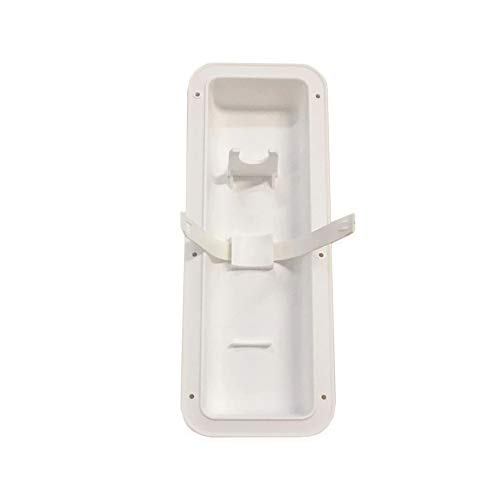 Autmotive Authority White Fire Extinguisher Wall Mount Pocket Recessed Bracket Holder Hanger Boat RV