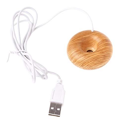 Homyl Huile Essentielle D'humidificateur Donut d'air D'arome de Diffuseur De Voiture d'USB - B