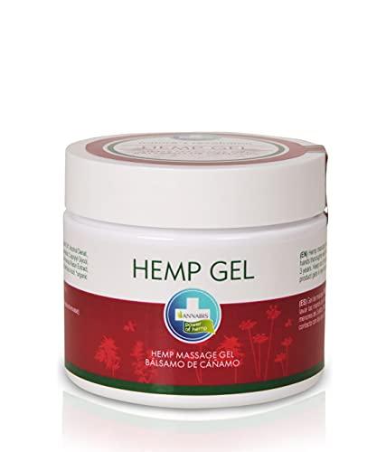 Annabis HANFSALBE | cannabis salbe für häufige Massage gegen Schmerzen mit Cannabis öl | Hanföl | Hemp oil | Schmerzsalbe | 330ml