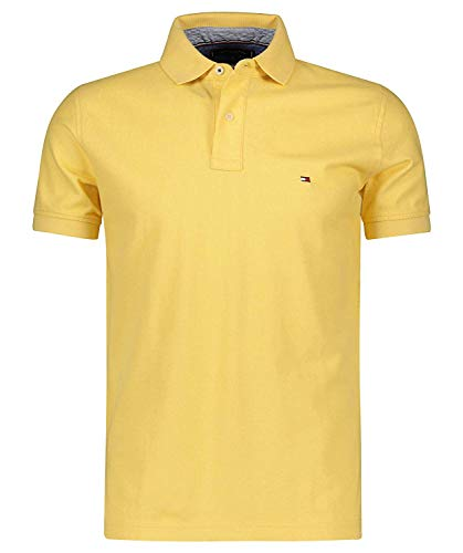 Tommy Hilfiger Herren Poloshirt Regular Fit gelb (510) XL