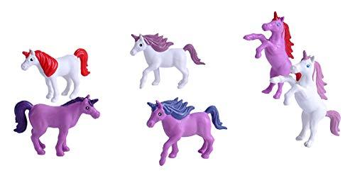 Wild Republic 23149 Spielfiguren-Set Einhörner, Kleiner Spieleimer, Adventure Bucket Mini, 10 cm, 6-Teilig, Multi