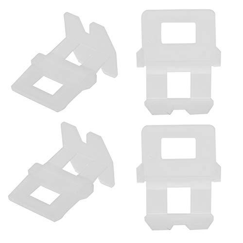 Clips del sistema de nivelación de baldosas, convenientes y hermosos clips de nivelación Ile Estable para nivelar para baldosas Dejar espacios