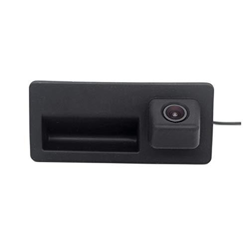DHTENG® Cámara de visión Trasera del Coche Ajuste para A4 A5 S5 Q3 Q5 para Ajuste para Volkswagen Golf Pas/en Jetta Touareg (Color Name : Black)