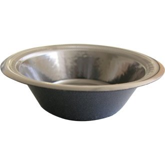 Winware – Vaisselle jetable – Bol. 340,2 Gram. Boîte quantité 125 (Premium stratifié en Mousse Vaisselle en Noir. Non-Absorbant et fuites. avec Bords Edge