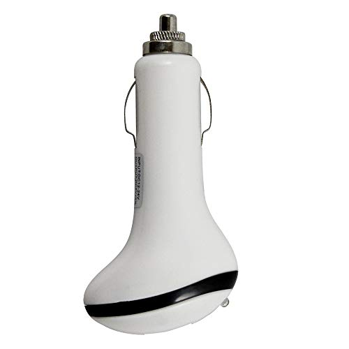 Harper Grove, USB Car Charger Adapter for Verizon Ellipses 7 8 10 Gizmo Tab, White Portable Cell Phone Charger