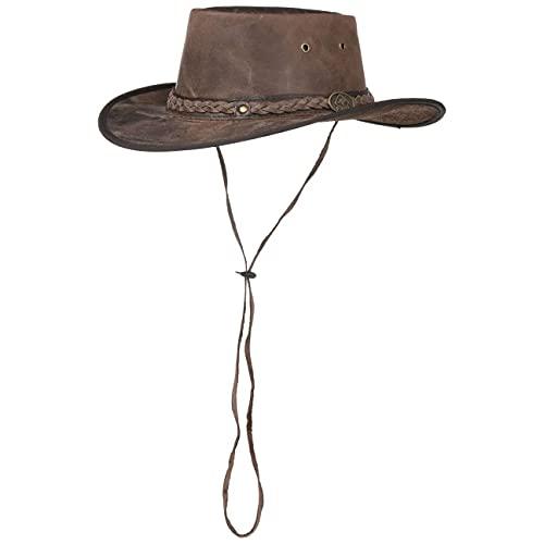 SCIPPIS Scippis Unisex Henbury Cowboy-Hut, Braun, L
