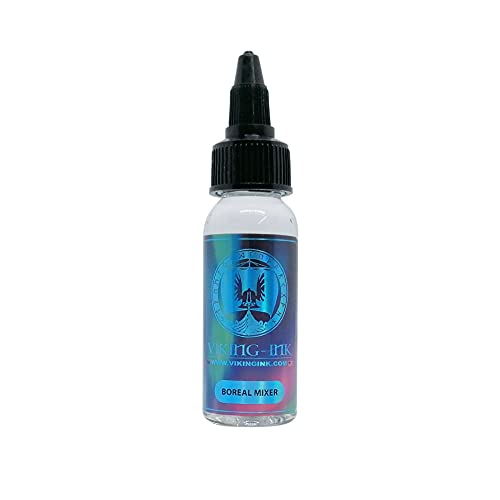 VIKING INK - Diluyente para tintas de tatuaje - Boreal Mixer (270ml) - Mixer para colores y negros