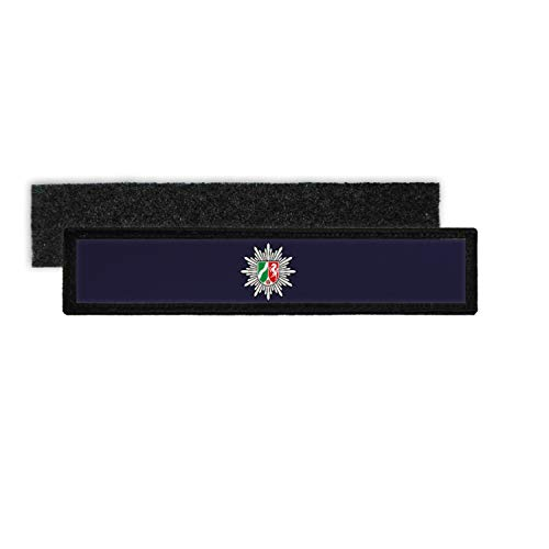 Copytec Patch Name Plate Police NRW Velcro Stripes Personalised with Name for Uniform #35918