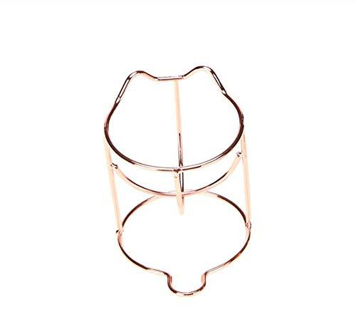 KUSAWE Éponge de maquillage 2pcs Maquillage beauté Oeuf Poudre feuilleté éponge présentoir Support de séchage Rack r