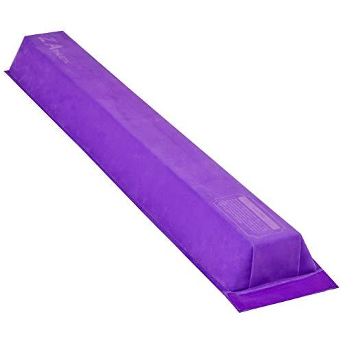 Z Athletic Gymnastics Attachable Training Low Beam (Purple)