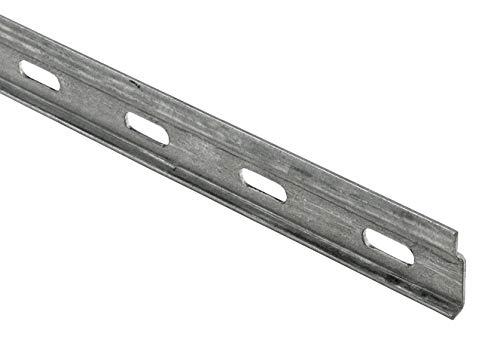 Hettich 9219913 Schrankaufhängeschiene (Wandschiene, Aufhängeschiene) -für mehrere Oberschränke-29 x 100 x 6,5 mm, 1 STK, verzinkt