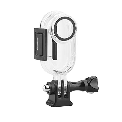 Aoligeinb para Insta360 GO 2 Cámara de acción Estuche Impermeable Submarino 30M Carcasa Protectora de Profundidad Mini cámara de acción Carcasa Accesorios de Carcasa