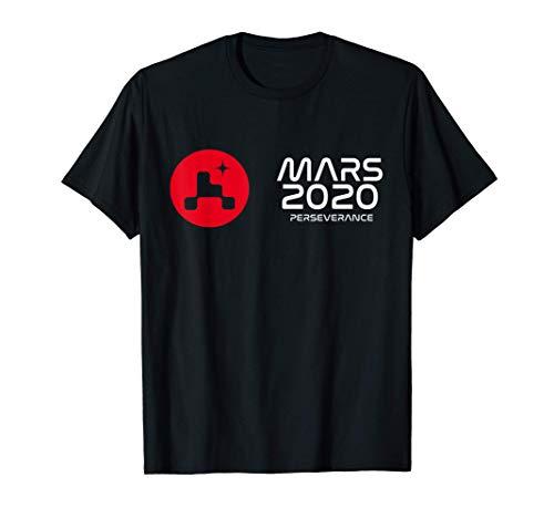 Mars 2020 Perseverance Rover Mission Landing JPL Insignia T-Shirt