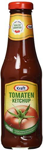 Kraft Tomaten Ketchup Glas, 6er Pack (6 x 500 ml)