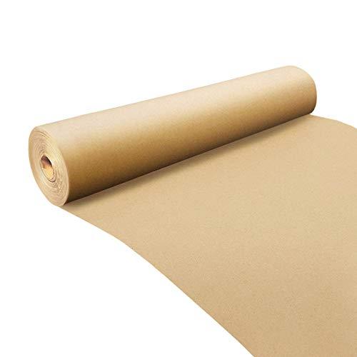 Merrimen Kraftpapierrolle – Jumbo-Packung auf Rolle – Braun – Ideal für Kunst, Handwerk, Geschenke, Post, Versand, Verpackung, Bodenbelag, Tischläufer (500 mm x 25 m)