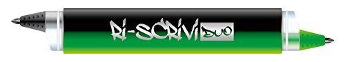 Osama OW 231339 - Bolígrafo borrable, color negro y verde