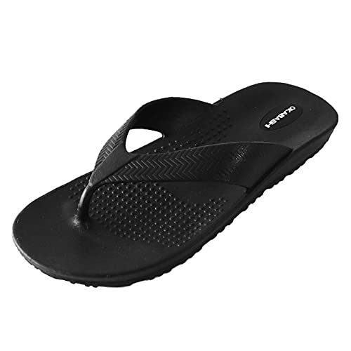 Okabashi Men's Surf Flip Flops  | Provide Arch Support | Great for Indoors, Outdoors, Beach, Summer