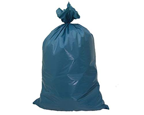 1-PACK Müllsäcke 120 Liter, 70 x 110 cm, LDPE Typ 100 Extra-stark, blau, 30 Stück