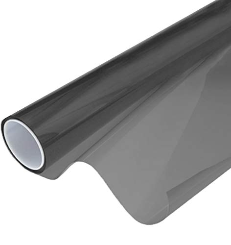 "VViViD Smoke Black Adhesive Headlight Wrap Wet Tinting Vinyl Roll (17.9"" x 48"" 1-Roll Pack)"