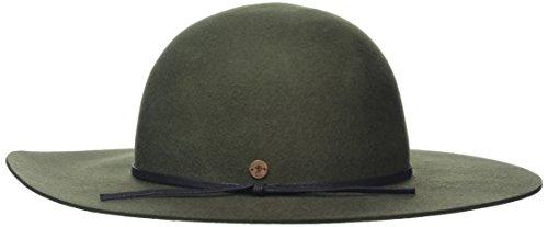 edc by ESPRIT Damen 096CA1P006 Baseball Cap, Grün (Dark Khaki 355), Medium (Herstellergröße: M)