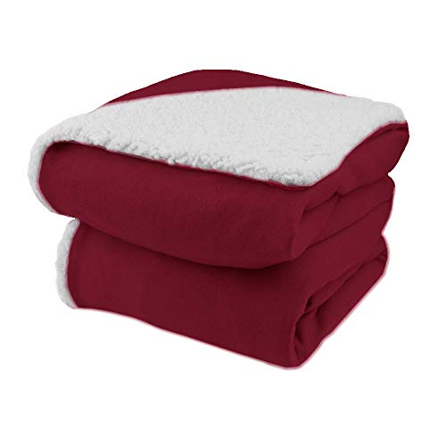 Biddeford Comfort Knit Electric Heated Throw Blanket with...