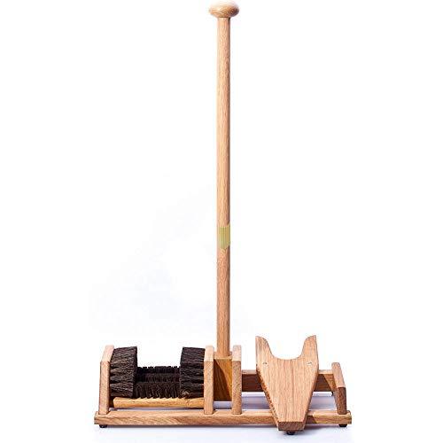 Stiefeltraktor / 4 Bürsten - Balance Mast - Holz