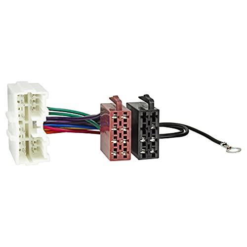 Baseline connect câble adaptateur d'autoradio pour mitsubishi entre fiche mâle iSO-parleur (électricité)