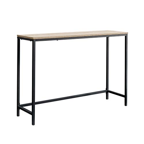 Mejor VASAGLE Console Table, Sofa Table, Metal Frame, Easy Assembly, for Entryway, Living Room, Rustic Brown crítica 2020