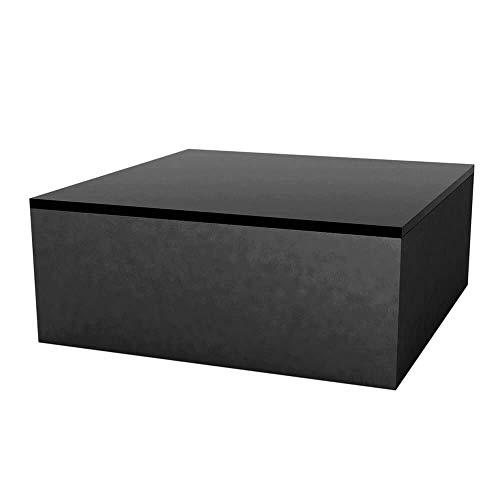 Vondom Quadrat Table Basse pour l'extérieur 80x80 h.32 cm cm Noire