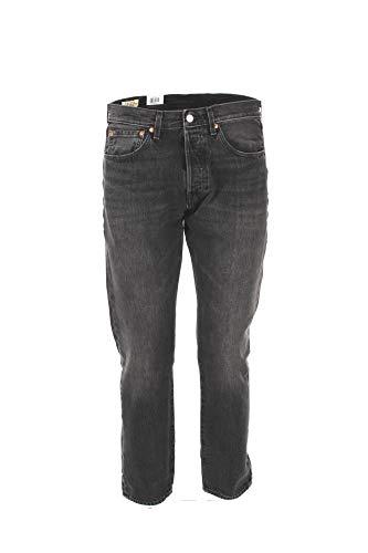 Levi's Mens 501 Slim Taper Jeans, Just Grey, 34 30